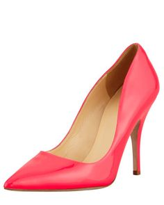 APRIL: Give your denim a kick of color with these point-toe pumps from Kate Spade! 212 872 8941