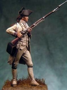 French NCO, c.1780 by Bill Horan