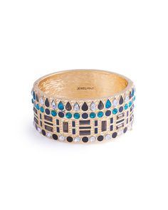 Peacock Bangle by JewelMint.com, $29.99
