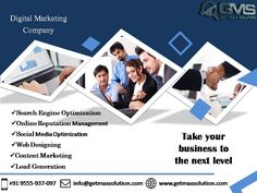 Get Max Solution, the leading result oriented Digital Marketing Company in India & USA, offers Professional Digital Marketing services, call Digital Marketing Strategy, Digital Marketing Services, Marketing Strategies, Business Branding, Business Marketing, Content Marketing, Seo Consultant, Reputation Management, Best Wordpress Themes