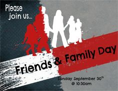 friends and family day at church occasion