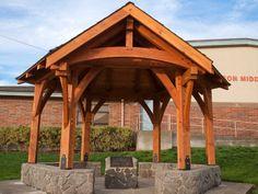 Outdoor Timber Photos | Arrow Timber Framing