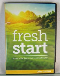 Fresh Start by Joel Osteen coming out in December!
