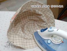 퀼트 벙거지모자 만들기 : 네이버 블로그 Home Appliances, Iron, Hats, Pattern, How To Make, Bucket, Canvas, Sombreros, House Appliances