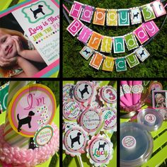 I wouldn't actually need all of this but for $158.50 20 Invitations w/ envelopes  24 Cupcake Toppers  Three Length Birthday Banner  Birthday Kid Hat  20 Customized Cake Plates  20 Customized Cups  20 Cutlery Sets