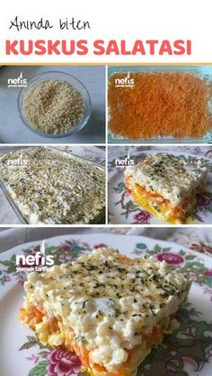 Anında Biten Kuskus Salatam – Nefis Yemek Tarifleri Instant Couscous Salad Recipe How to make? Here is a picture description of this recipe in the book of people and photographs of the experimenters. Couscous Salad Recipes, Salad Dishes, Roasted Meat, Roasted Vegetables, Crab Stuffed Avocado, Cottage Cheese Salad, Instant Recipes, Comfort Food, Herbs