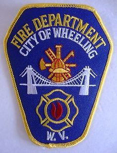 City of Wheeling West Virginia  Fire Department Patch