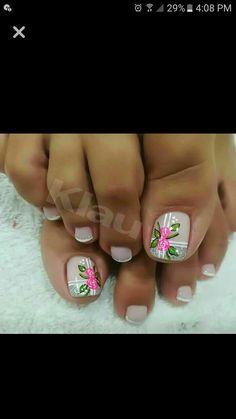 Pedicure Nail Art, Toe Nail Art, Manicure, Cute Toe Nails, Cute Toes, Nail Art Designs, Hair Beauty, Creative Nails, Colorful Nails