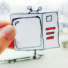Não assista de camarote a sua derrota. De a volta por cima, você precisa superar pra conquistar a vitória.Bom dia.  - http://joicyrecco.blogspot.com.br/?m=1 - Desenho: Joicy Recco