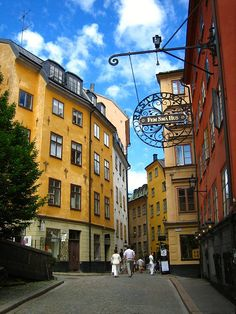 Stockholm's old town (Gamla Stan)