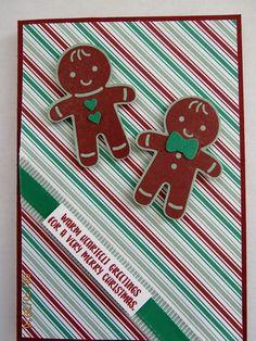 Cookie Cutter Christmas stamp & punch; Emerald Taffeta & Mint Macaron…