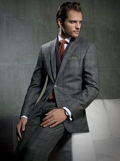 Jack Victor Window Panel Suit | Fall/Winter | Men's fashion www.designerclothingfans.com