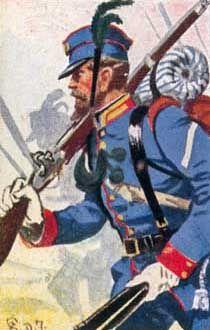 Bayerische Infanterie - Schützenkorporal d. Inf,-Rgts. Nr. 3, 1866.