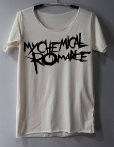 My Chemical Romance Shirt Alternative Rock Shirts TShirt T Shirt Tee Shirts - Size S M L wanntttt Rock Shirts, Band Shirts, Tee Shirts, Band Merch, Band Outfits, Cool Outfits, My Chemical Romance Shirts, Hunger Games Shirt, Look Skater