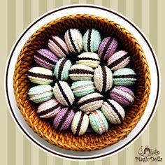 magicdolls: Sweet Crochet Macarons