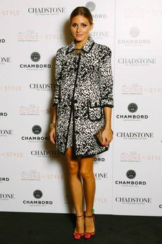 Olivia Palermo At The Chadstone Icons of Style fashion show in Australia.