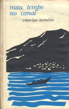 Mau Tempo no Canal - Vitorino Nemésio Capa de autor indeterminado