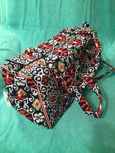 Vera Bradley Small Duffel Bag in the Sun Valley by SarahSuzGifts