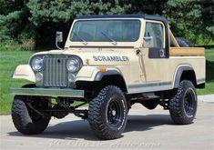 Jeep Scrambler for Sale Scrambler For Sale, Jeep Scrambler, Enjoy Car, Pickups For Sale, Jeep Pickup, Jeep Cj, Jeep Stuff, Fuel Injection, Cool Trucks
