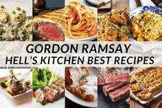 Uk Recipes, Entree Recipes, Kitchen Recipes, Seafood Recipes, Cooking Recipes, Dinner Recipes, Gordon Ramsay Dishes, Gordon Ramsay Steak, Chef Gordon Ramsey