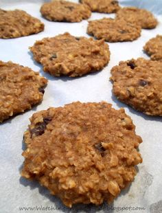 ultimate peanut butter oatmeal Breakfast Cookie ~ wheat & egg free, sweetened with fruit ~ yes, please!