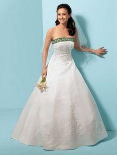 Gli abiti da sposa colorati potranno anche non essere ancora popolari, ma non pensare che siano un 'no' assoluto.