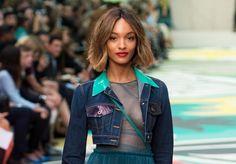 LFW (Spring 2015 Runway Trends: Denim) London Fashion Week @VolteDesign | #Luxury #Hair #Makeup #Jewelry #Handbags #Shoes |