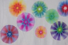 sharpie tie dye - Re-pinned by #PediaStaff.  Visit http://ht.ly/63sNt for all our pediatric therapy pins