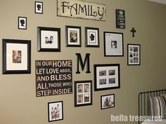 I have this family sign.. & can't wait to do something like this!