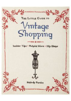 The Little Guide to Vintage Shopping book