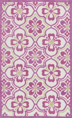 Zoey is a delightful collection of lighthearted, cheerful patterns in pinks, blues and greens that are perfect for young kids or the young at heart. Power loomed in China of super soft polyester microfiber, Zoey rugs are durable, yet soft enough for infants and toddlers to cozy up to.