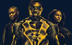 Download wallpapers Black Lightning, poster, 2018 movie, superheroes, TV Series