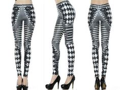 Blurred Lines and Chains Leggings