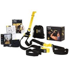 Portable TRX P2 total-body training system comes with TRX Door Anchor, a Basic Training DVD and Quick Start Guide, 2 bonus workouts, and a carry bag  Suspension Training P2 Model is used by pro-athletes, the US military, and top trainers everywhere  System weighs under 2 pounds and attaches to any door; rated up to 1000 pounds  65-minute Basic Training DVD and full-color 35-page Workout Guide plus 2 bonus workouts: TRX Endurance Circuit and TRX Metabolic Blast