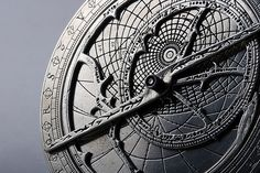 Star-map - Called an astrolabe, this compass-like device was used by ancient sailors in order to determine their position using the stars and constallations.  Pretty nifty!