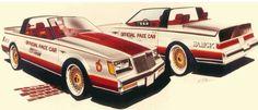 1981 Buick Regal Indy Pace Car - Dean's Garage Buick Regal, Vintage Cars, Indie, Ford, Plane Ride, Model Kits, Car Stuff, Dean, Garage