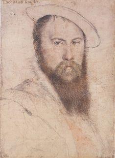 Sir Thomas Wyatt, Hans Holbein, Royal Collection (Windsor)