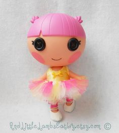 Lalaloopsy Littles Clothes  Custom Tutu  by AndLittleLambsEatIvy, $5.00