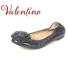 25% off bundlesHPValentino Black Rosette Flats Host Pick 11/27! Authentic Preowned Valentino Garavani Black Leather Rosette Flats. Size 5.5. Great condition. Some creasing in back of heels, slightly worn leather bottoms. I'm very sad to part with them, but they just didn't fit me comfortably! No trades. Box not included. Valentino Shoes Flats & Loafers
