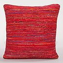 Berry Recycled Silk Sari Pillow | World Market - LOVE pillows