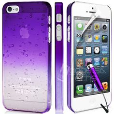 ULTRA THIN CRYSTAL CLEAR BACK CASE COVER FITS APPLE IPHONE 5 FREE SCREEN GUARD | eBay