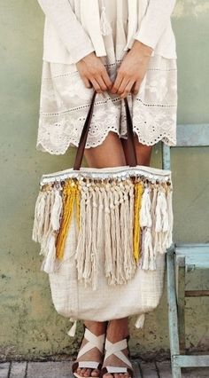 Love the outfit and that awesome bag!