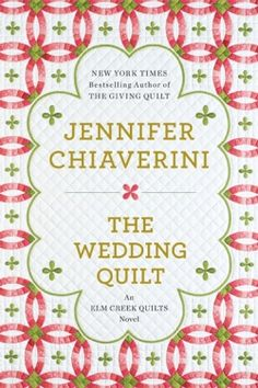 Jennifer Chiaverini;  Author of the Elm Creek Quilts Novels. I enjoy how she weaves a bit of history into her novels.