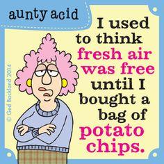 Aunty Acid Comic Strip on GoComics.com