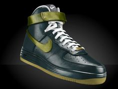 b>Botas <b>Taco<b> Alto <b>Nike<b> Air Force One. <b