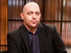 #Chopped judge Chris Santos tells all about his favorite food moment, his favorite person to cook with and why you won't catch him cooking shellfish.