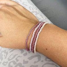4 Raspberry Individual Beaded Bracelet Set Stretch Bracelets | Etsy Stack Bracelets, Stretch Bracelets, Beaded Bracelet, Bracelet Set, Raspberry, Etsy, Bangle Set, Stacking Bracelets, Raspberries