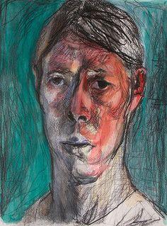 self, pencil watercolor, 34 x 25 cm - via KoutaSasai on Flickr