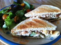 It doesn't take much to make a sandwich. But, what makes a sandwich great is what you put between the bread slices. I like chicken salad spreads as my filler. But, to bump the recipe up a not…