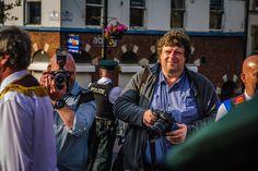 Photo reporters  Derry. Northern Ireland